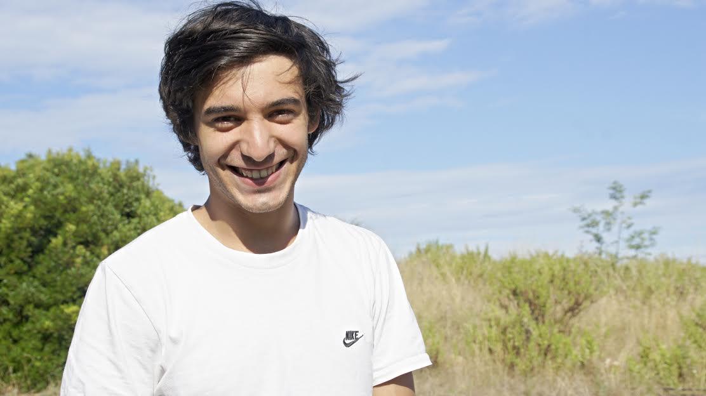 -Aurélien Gabrielli acteur de cinéma et de théâtre est aussi un jeune metteur en scène prometteur. (Photo LP)