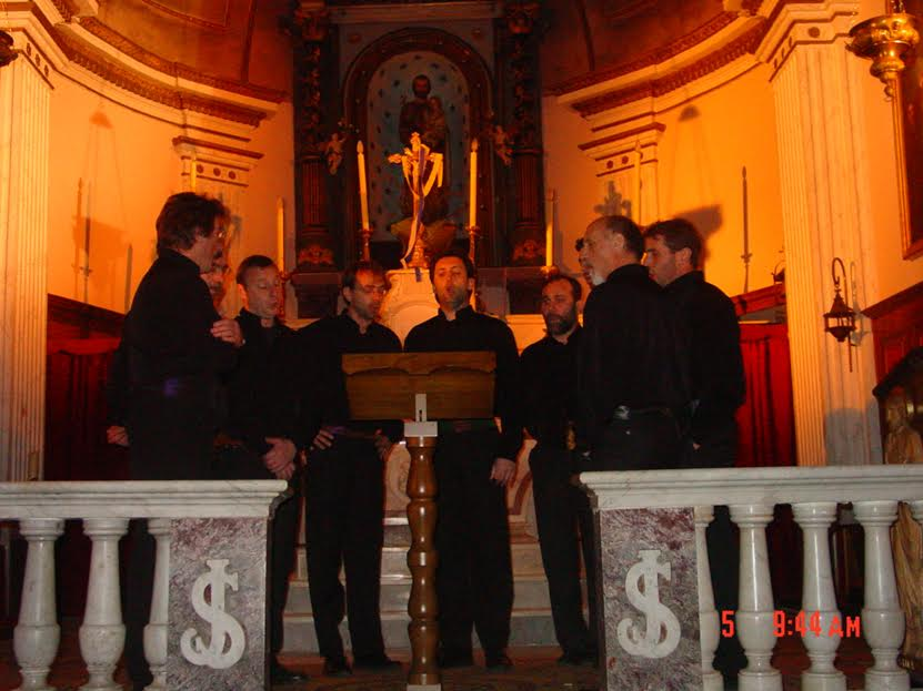 Tavagna à l'église de Propriano