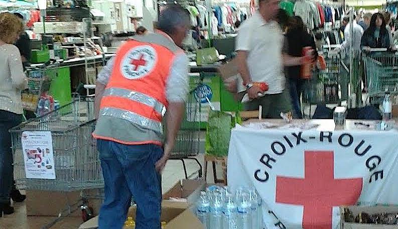 Croix rouge : Opération caddie à Porticcio