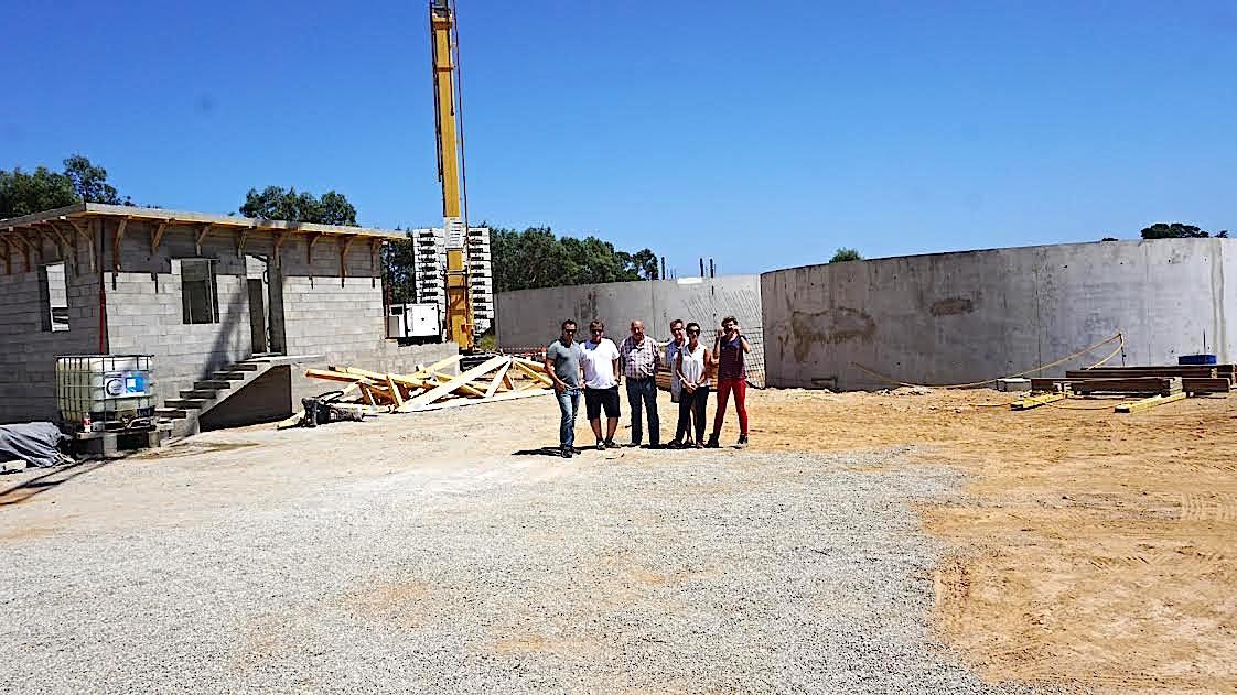 La STEP d'Aleria sera opérationnelle dès le début de l'année prochaine