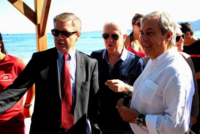 Alain Thirion et François Orlandi, dans la région Balagne-Corte  à la rencontre des acteurs de la Sécurité Civile