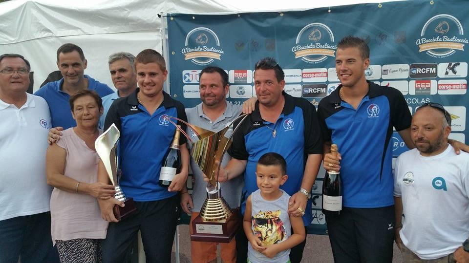Bucciata Bastiaccia : Les lauriers pour l'équipe de France