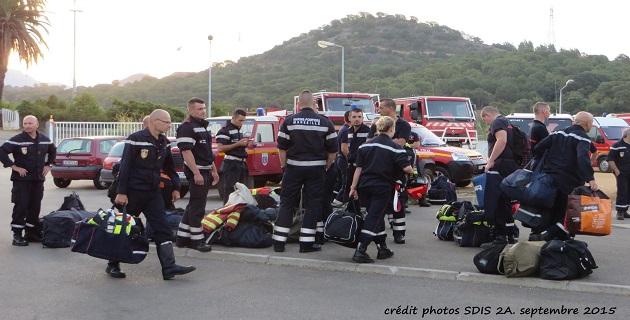 Des renforts pour lutter contre les feux de Vero et Bastelica