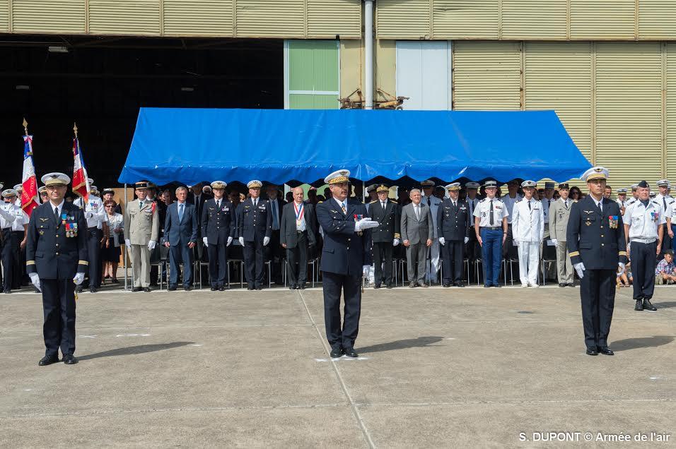 Prise de commandement à la  Base aérienne 126 « Capitaine Preziosi » de Ventiseri-Solenzara