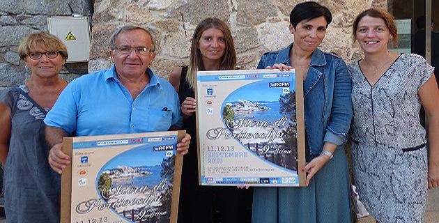 Bénévoles de l'Antenne Extrême-Sud avec Laetitia Cucchi et Jean-Baptiste Lucchetti