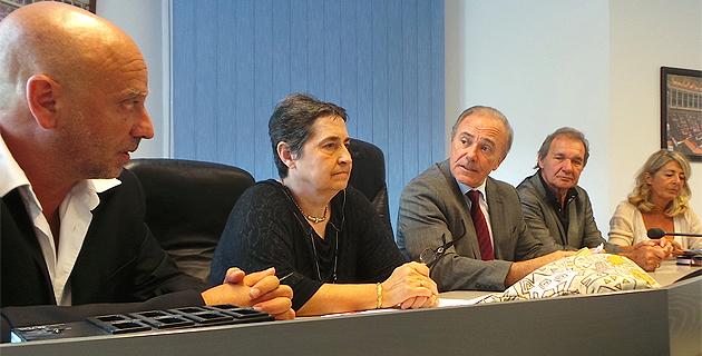 Alain Abad, Marie-Jeanne Polini, Sauveur Gandolfi-Scheit, François Bernardini, Claudie Mamberti