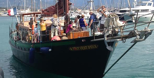 Promenade en mer pour les adhérents de l'ADMR de Corse-du-Sud :  Les voiles du cœur