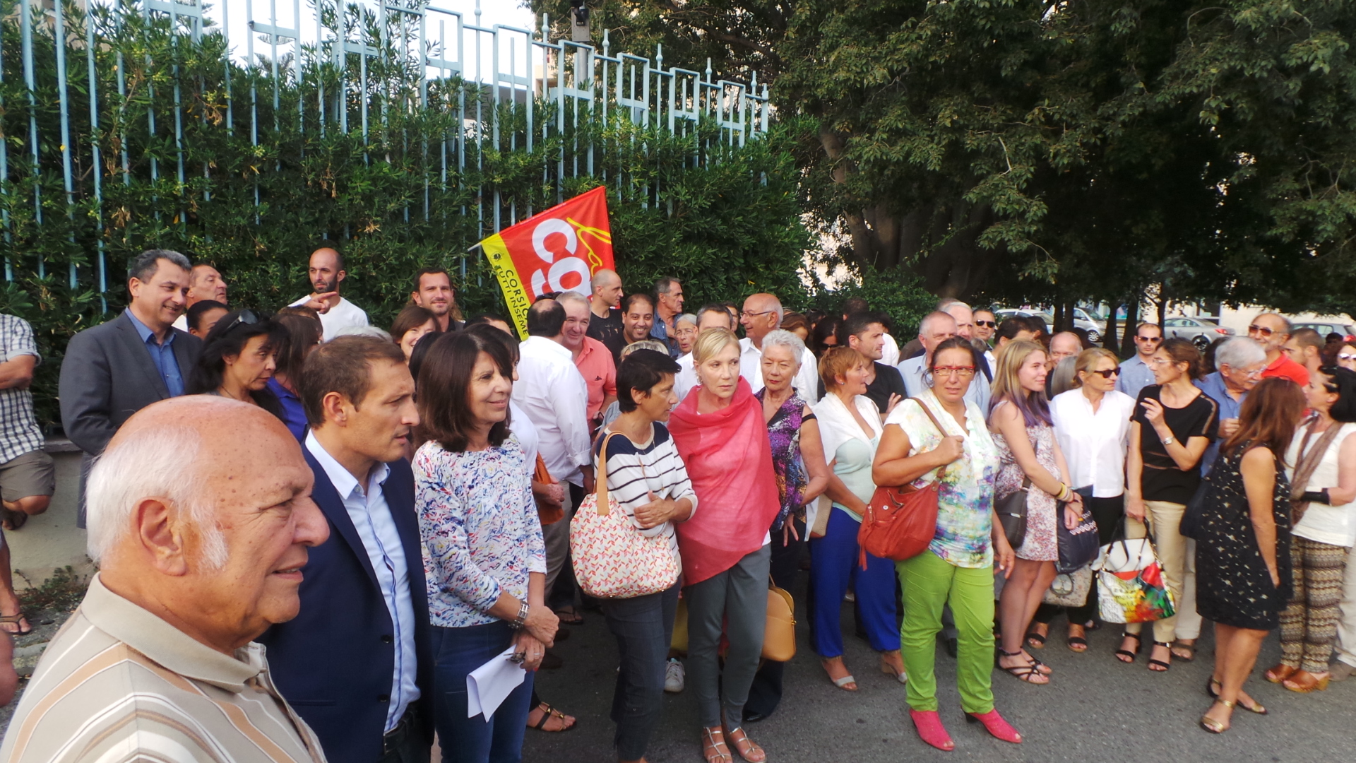 Soutien aux réfugiés : Une cinquantaine de personnes à Bastia
