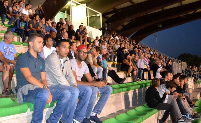 Le public était venu nombreux au stade Claude Papi (Alcudina.fr)