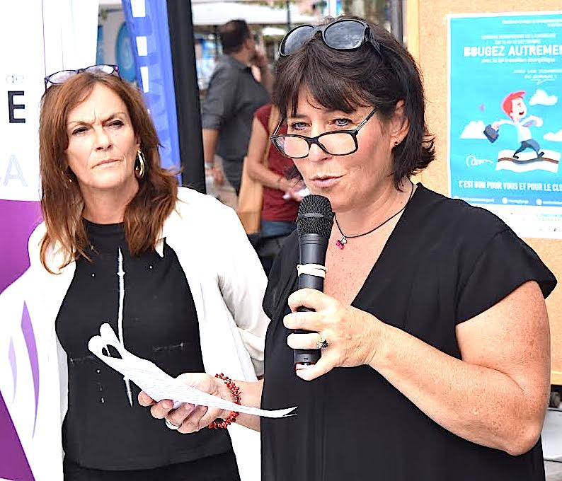 Ivana Polisini et Françoise Huguet