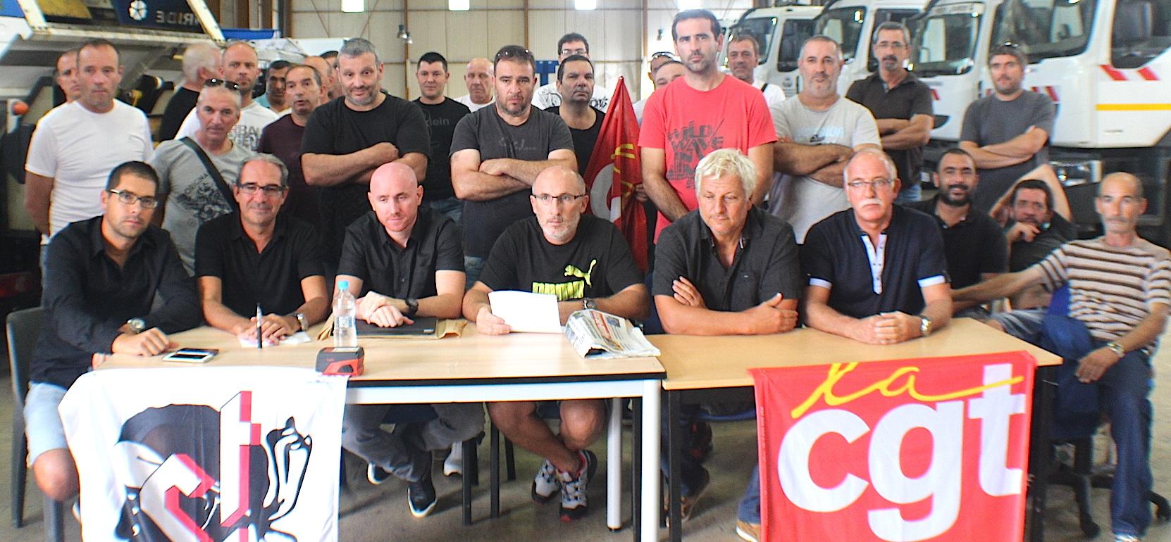 Grève du personnel de la voirie de la CAB : Un protocole d'accord signé. Reprise du travail Vendredi