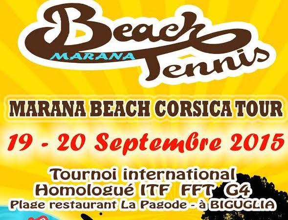 Beach tennis : Le Marana beach Corsica a débuté