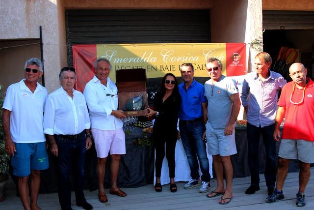 """""""Forrest Gump"""" barré par Roberto Tamarelli remporte la 2e Smeralda Corsica Cup en baie de Calvi"""
