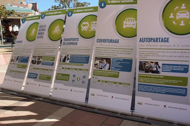 Ajaccio : Journée d'actions sur la mobilité