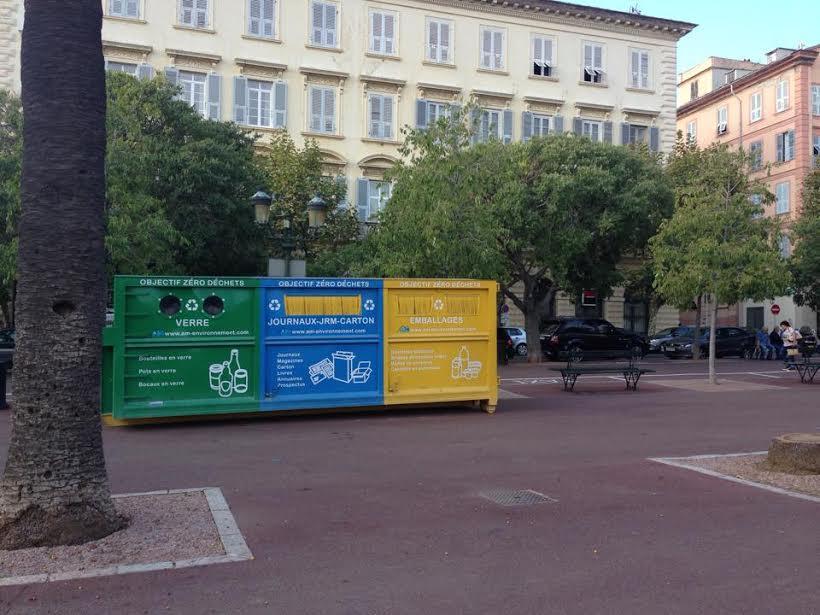 Déchets : Trois nouvelles bennes de tri à Bastia et Furiani