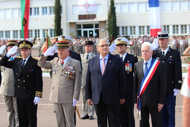 Le 2e REP de Calvi associe la BA 126 de Solenzara aux cérémonies de la Saint-Michel