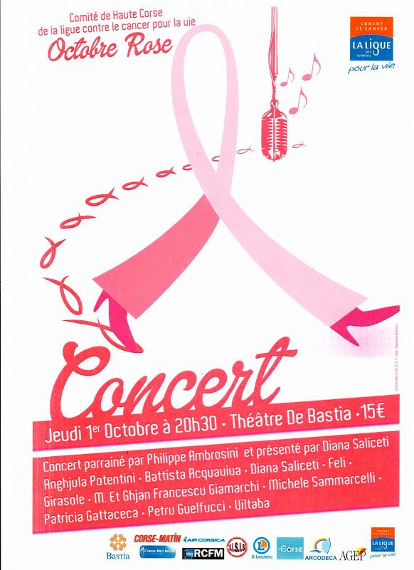 Octobre Rose : Les chanteurs corses se mobilisent à Bastia