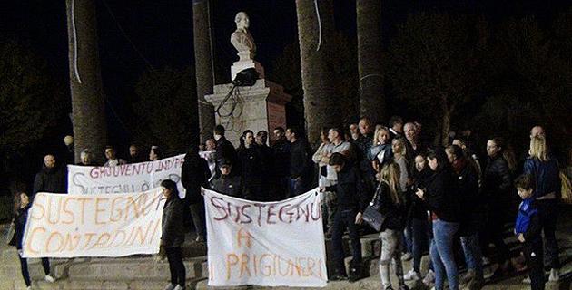 L'Ile-Rousse : Nouvelle manifestation de soutien à Paulu-Andria Contadini