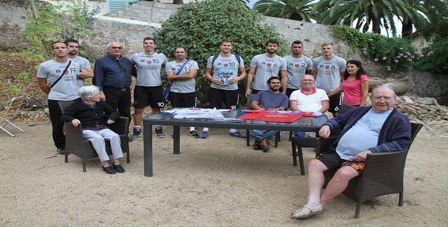 Le GFCA Volley rencontre les résidents de l'association « A Spannata »