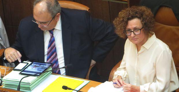 Paul Giacobbi et Maria Guidicelli.