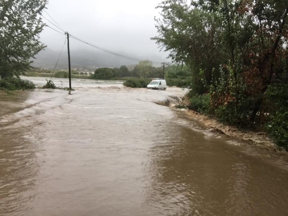 Alerte Orange : Les services de secours portent assistance aux habitants du front de mer de Penta di Casinca