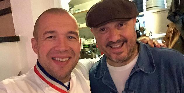 Guillaume Gomez et Jean-Michel Oberti