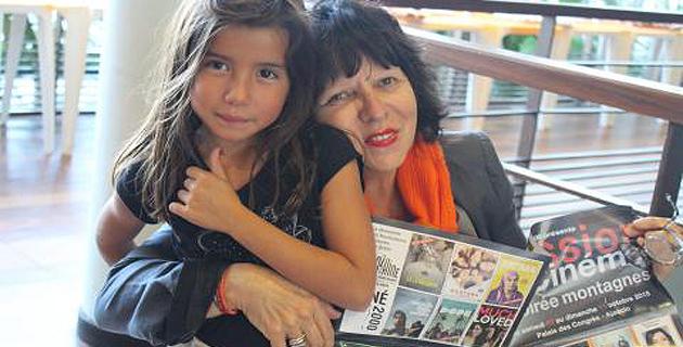 Jeanne-Paule de Rocca Serra, et sa petite fille, étaient heureuses de lancer cette nouvelle édition du Festival Passion Cinéma