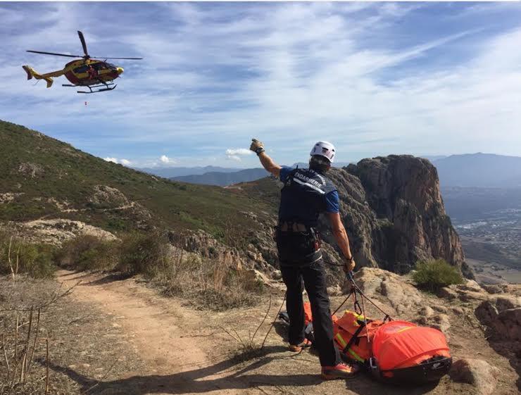Opération de secours sur le Mont Gozzi (PGHM)