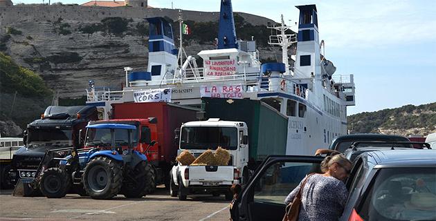 Fin de la liaison avec la Sardaigne : Le port de Bonifacio bloqué