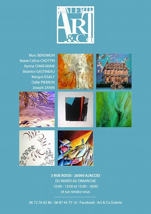 Ajaccio : L'association Art & Co Galerie, une association d'artistes que rien n'arrête!