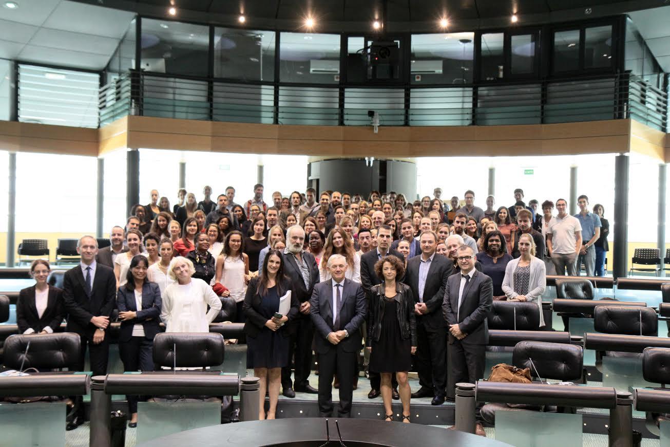 La 35ème promotion de l'Institut Régional d'Administration de Bastia au Conseil départemental