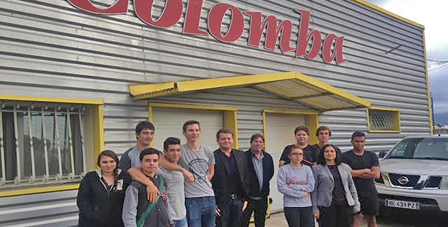Semaine du Goût  12-18 octobre : Les élèves du Finosello découvrent les pâtes Colomba