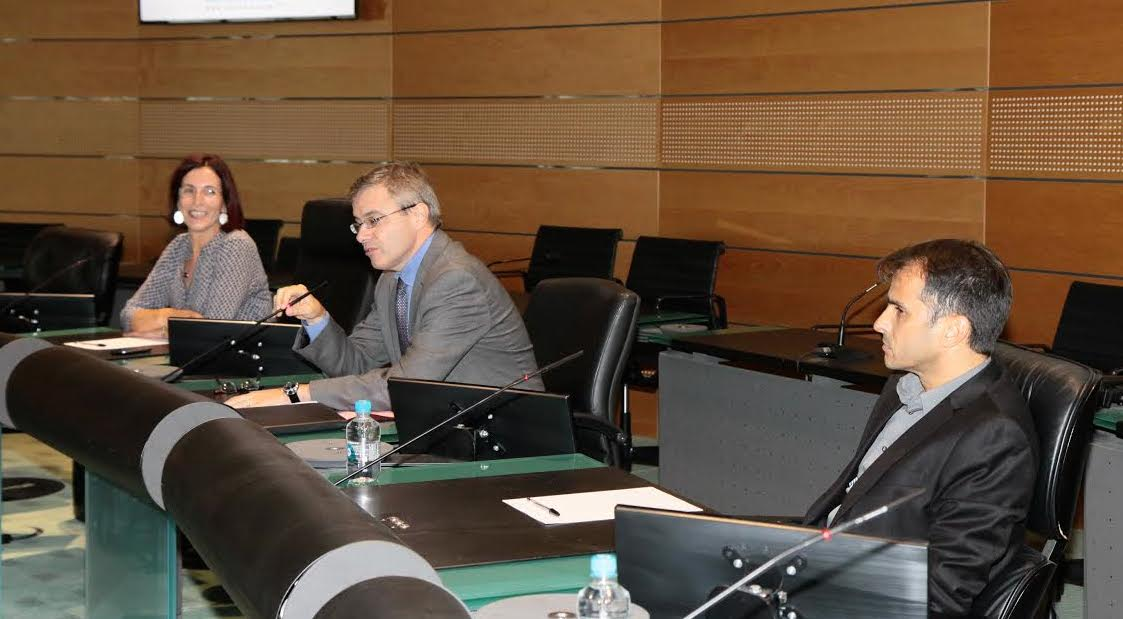 Dominique Nadaud, Déléguée départementale Haute-Corse aux droits des femmes et à  l'égalité et Alain Thirion, préfet de Haute-Corse