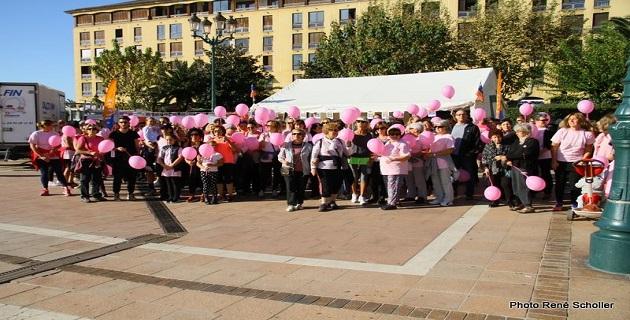 Octobre Rose : Les Ajacciens ont marché pour le dépistage du cancer du sein