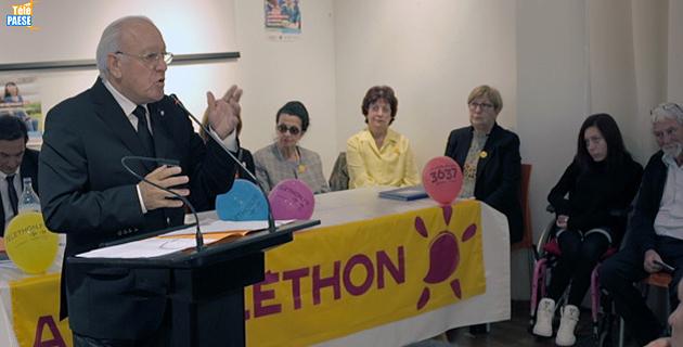 Lancement du Téléthon 2015 à L'Ile-Rousse