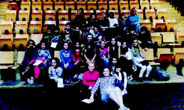 Elèves du primaire et collègiens à la rencontre de CIGURI à Pigna