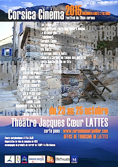 Corsica Cinéma : Le festival de l'amicale des Corses de Montpellier