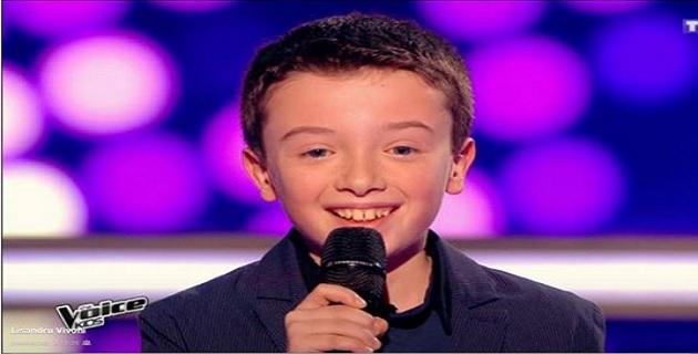 La dernière ligne droite pour Lisandru qui participera à la finale de The Voice Kids Vendredi