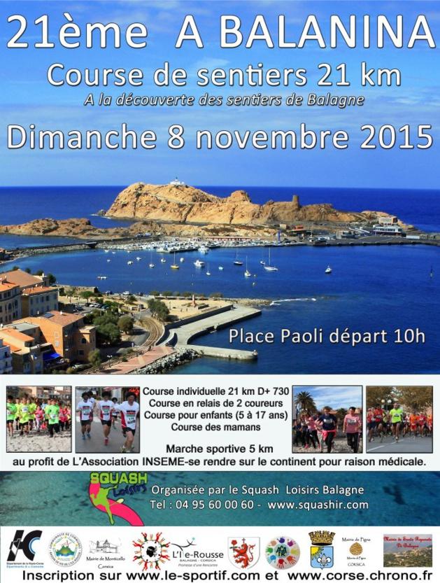 Plein les yeux pour la 21ème édition de la course pédestre A Balanina