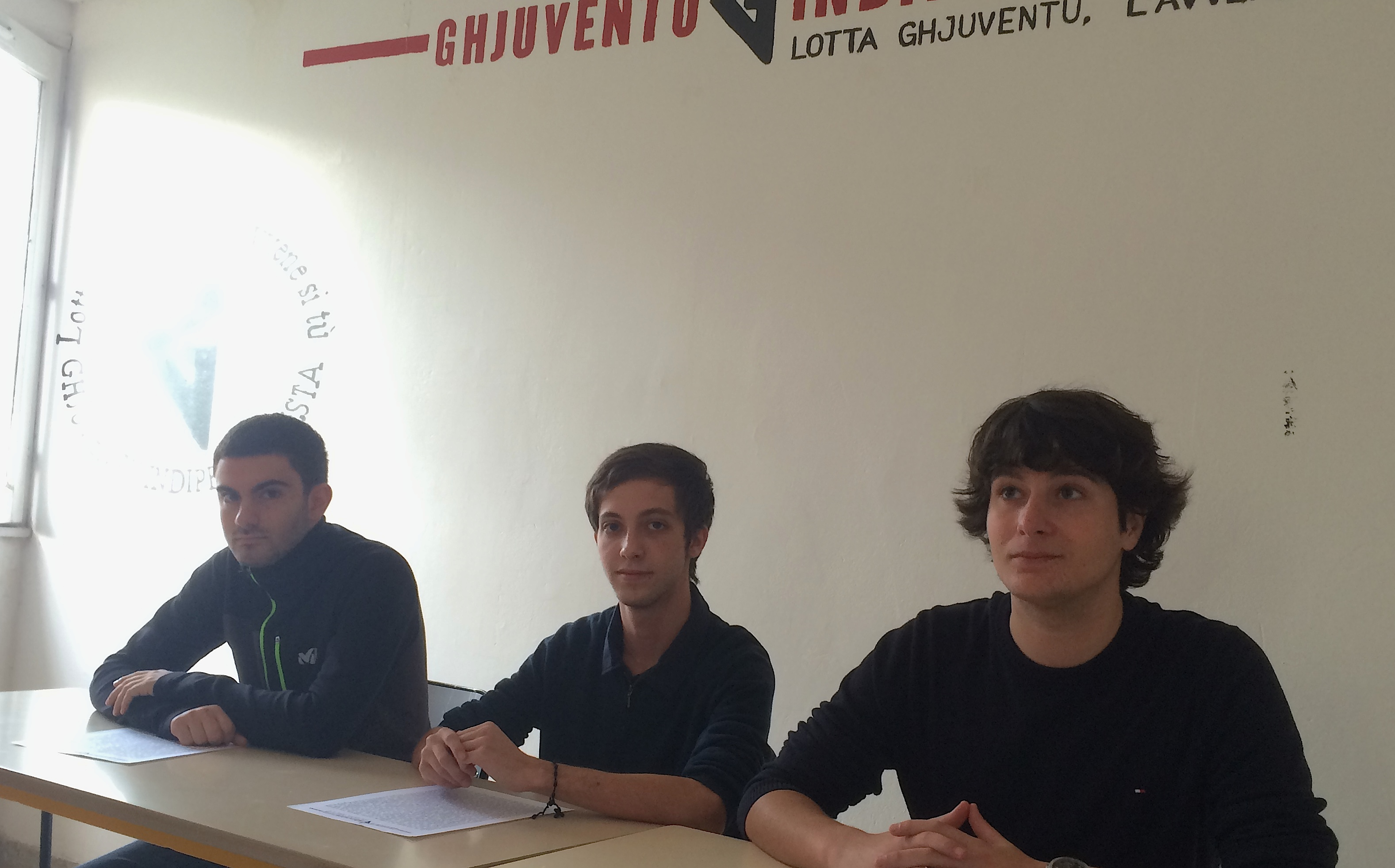 """Ghjuventu Indipendentista  :""""La future assemblée territoriale doit être nationaliste, c'est le seul espoir pour la Corse"""""""