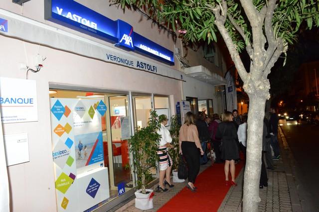 Inauguration à Calvi de l'agence AssurBanque Axa Véronique Astolfi