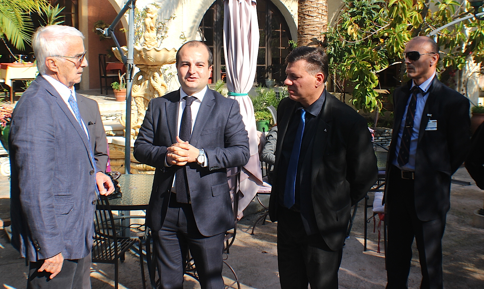 René Cordoliani, David Rachline et Christopeh Canioni