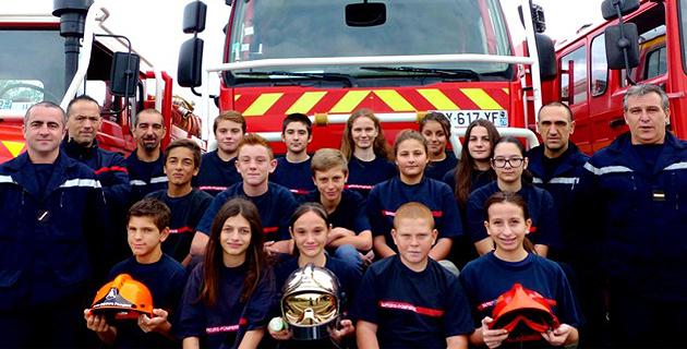 Les premiers jeunes sapeurs-pompiers de la Plaine Orientale formés à Cervioni