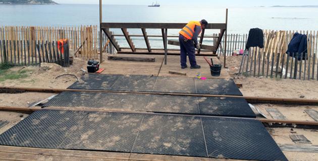 Mise en sécurité et aménagements de la traversée de la pinède de Calvi