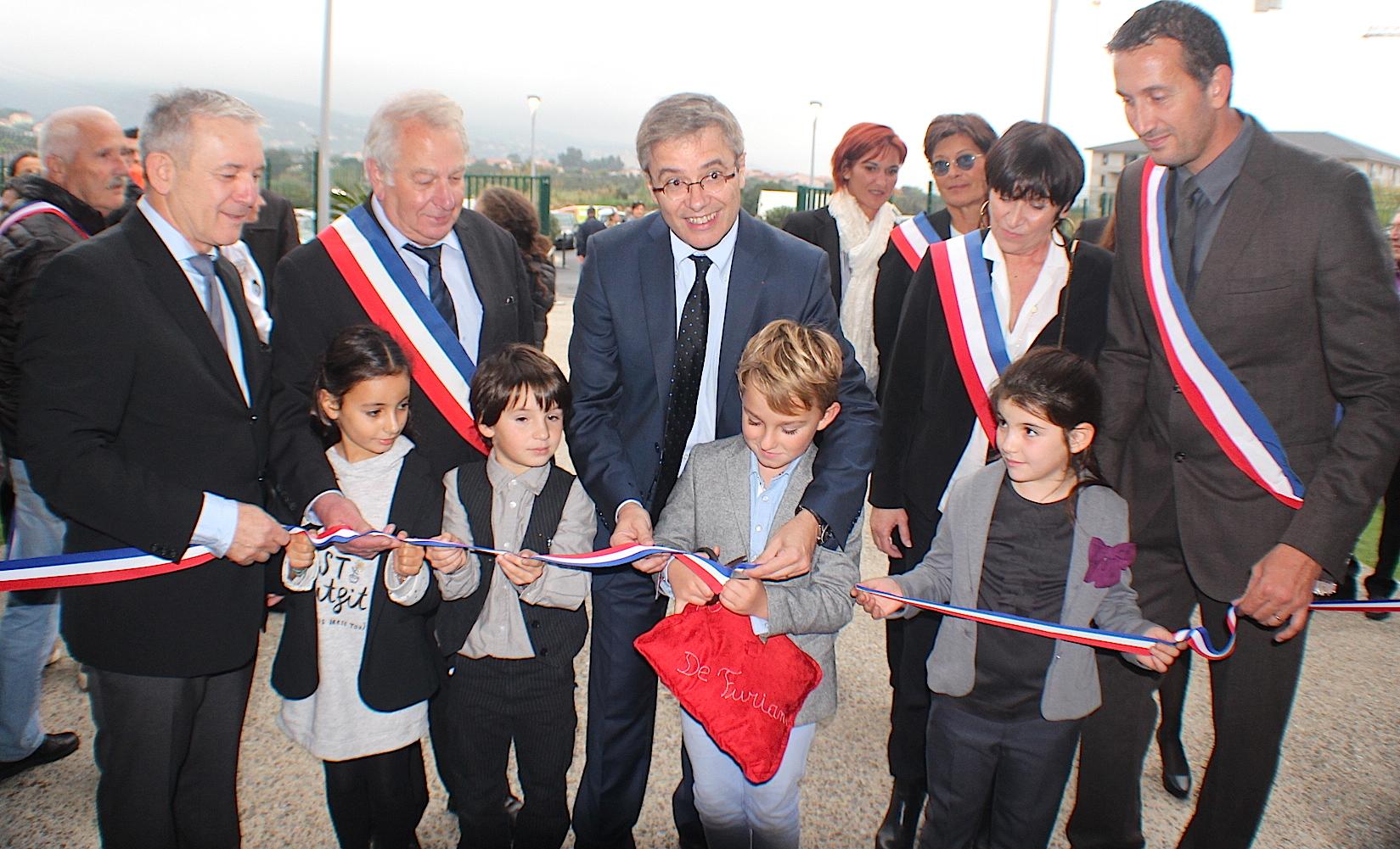 """Scola """"U Principellu-Saint Exupéry"""" : Un nouveau groupe scolaire à Furiani"""