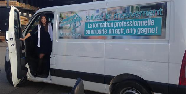 Formation professionnelle et emploi à Ajaccio : Le MEDEF dans la rue !