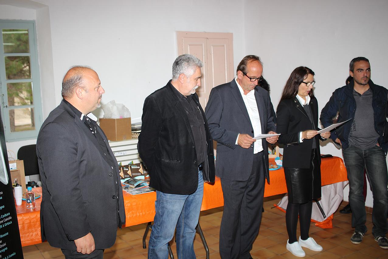 """Les lauréats 2015 des """"Rencontres Balanines"""" désignés à Corbara"""