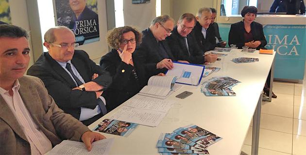 Prima à Corsica–Paul Giacobbi :  Mise au point et débat sur une base de travail