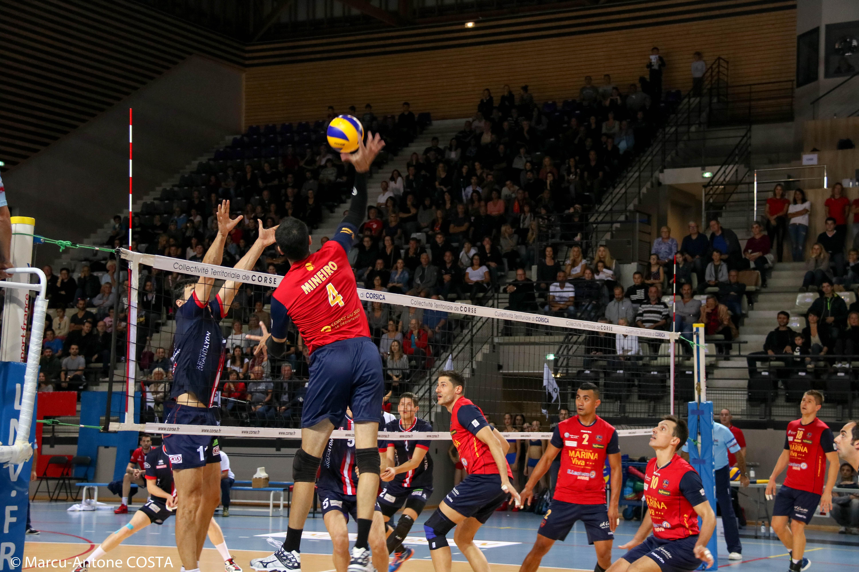 Volley-Ball : Les ajacciens à Toulouse pour confirmer