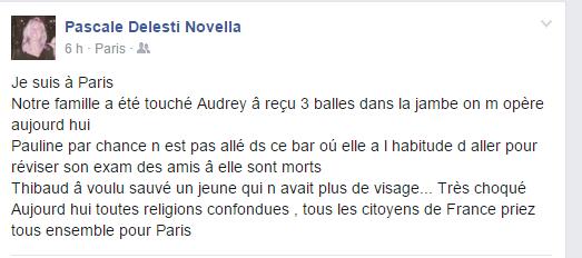 Attentats : Beaucoup de Corses ont été touchés à Paris
